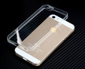 Telefoonhoesje voor iPhone 5s Transparant - Dun flexibel siliconen