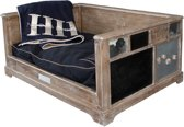 Happy-House Houten Bank Met Krijtbord Teak Small 73x58x40