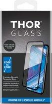 THOR Full Screenprotector + Apply Frame voor de iPhone 11 / iPhone Xr - Zwart