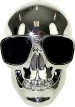 United Entertainment - Skull Draadloze Bluetooth Speaker - Zilver