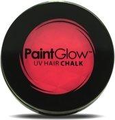 UV haarkrijt rood