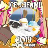 Ice Cream! 2019 Mini Wall Calendar