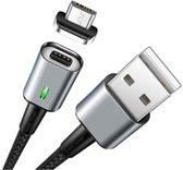 Elough ® 3A USB-C Magnetische Fast Charge Laad en Datakabel