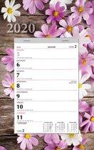 Week notitie (scheur)kalender 2020 - Bloem - 24 x 31 cm