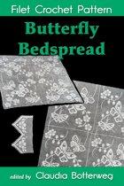 Butterfly Bedspread Filet Crochet Pattern