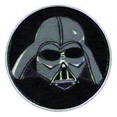 Star Wars™ Clicks - Darth Vader Mask catroon black