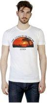 Heren T-shirt van Trussardi - wit