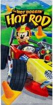 Mickey mouse strandlaken 70 x 140 cm in de Hotrod
