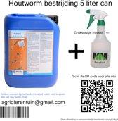 Houtworm bestrijding  can 5 liter