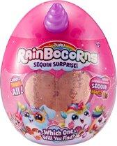Rainbocorns Konijn - Knuffeldier met glitterpailletten