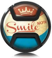 Kaiser Lens Cap Snap-On Style Smile Now 58mm