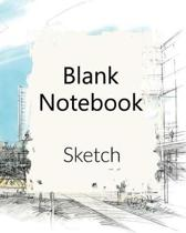 Blank Notebook Sketch