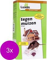 Luxan Tomorin Graan Tegen Muizen - Ongediertebestrijding - 3 x 100 g
