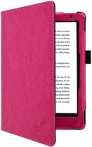 Kobo Aura 2nd edition 6 inch eReader Sleep Cover, Premium Business Case, Betaalbare zwarte Hoes-Sleepcover voor Kobo Aura editie 2 (2016), hot pink , merk i12Cover