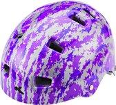 KED Risco K-Star helm violet Hoofdomtrek 54-58 cm