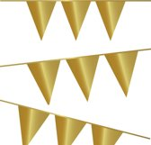 Vlaggenlijn Goud 6 meter