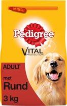 Pedigree Adult Rund - Hondenvoer - 2 x 3 kg