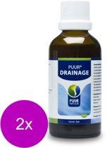Puur Natuur Detoxi - Drainage - Supplement - Spijsvertering - 2 x 50 ml