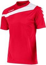 Hummel Elite Voetbal T-shirt - Voetbalshirts  - rood - L