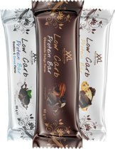 XXL Nutrition Low Carb Protein Bar | Eiwitreep | 12 Pack Cookies and Cream