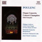 Poulenc: Organ Concerto, Concert Champetre, etc / Lefebvre