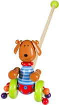 Orange Tree Toys Houten Duwstok - Hond