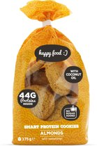 Body & Fit Smart Protein Cookies - Suikerarme eiwitkoekjes - 1 pak (21 cookies) - Almonds