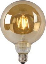 Lucide LED BULB - Filament lamp - Ø 12,5 cm - LED Dimb. - E27 - 1x5W 2700K - Amber