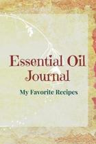 Essential Oil Recipe Journal - Special Blends & Favorite Recipes - 6'' x 9'' 100 pages Blank Notebook Organizer Book 12