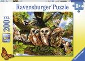 Ravensburger puzzel Schattige uilen - legpuzzel - 200 stukjes