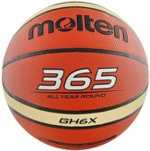 Molten Basketbal - size 6 - oranje/wit/zwart