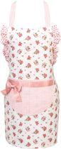 Clayre & Eef - Kinderschort - 48 x 56 - Roze