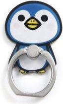 Ring vinger houder met Pinquin - 5.0 x 2.5 cm