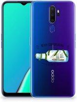 OPPO A5 2020 Telefoonhoesje met Naam Boho Bottle