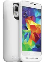 Mophie Juice Pack Galaxy S5 Portable battery case - Wit