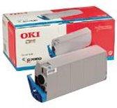 Oki Toner C7100 C7300 C7500 blauw