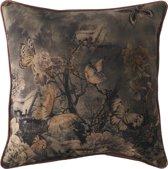 Rivièra Maison La Belle Époque Moonlight Pillow Cover - Sierkussenhoes - 50x50cm - Roze