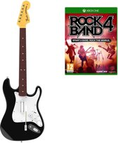 Rock Band 4 Bundel (Guitar + Game) - Xbox One