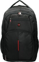 Enrico Benetti Cornell Laptop Rugzak 17 inch - 47082 001 Zwart