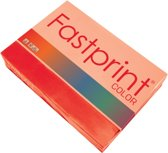 Kopieerpapier Fastprint A4 120 gram felrood 250 vel