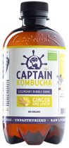 Captain Kombucha - Ginger Lemon