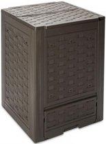 MaxxGarden Composter - Compostbak - 300 L - Rattan - 60 x 60 x 83cm