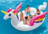 Intex Mega Eenhoorn Lounge-eiland max. 5 personen (met reparatiesetje)