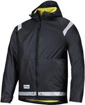 Snickers Regen Jack PU - 8200-0400 - zwart - maat M