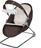 Baninni Bouncer & wiegje Nina Zeno Brown