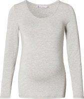 Queen Mum Shirt - Grey Melange - Maat L