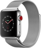 Apple Watch Series 3 smartwatch Roestvrijstaal OLED Cellulair GPS