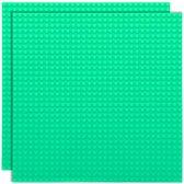 Strictly BRIKS LBP322PG Bouwplaat 32x32 Pastelgroen Duopak