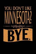 You Don't Like Minnesota? Bye.