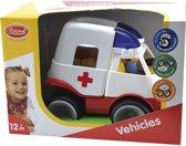 Gowi - Ziekenauto/Ambulance - Voor kinderen vanaf 1 jaar
